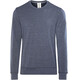super.natural M's Essential Crew Neck Navy Blazer Melange